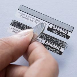 Scratch-label
